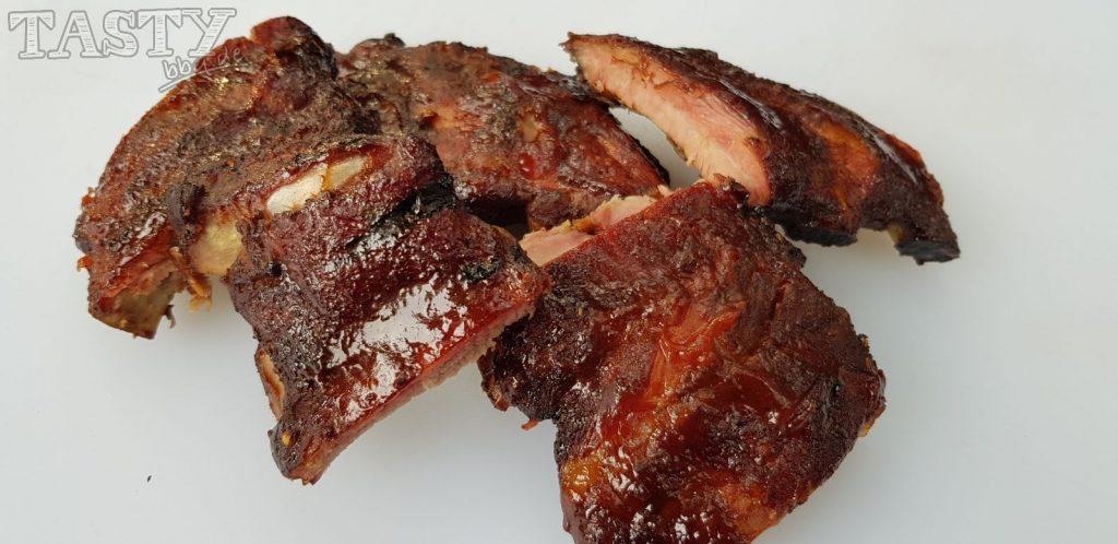 SpareRibs ein typisches Gericht eines American Barbecue