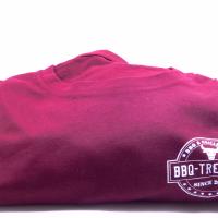 BBQ Treff Shirt in bordeaux